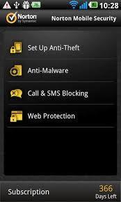 Norton Mobile Security App